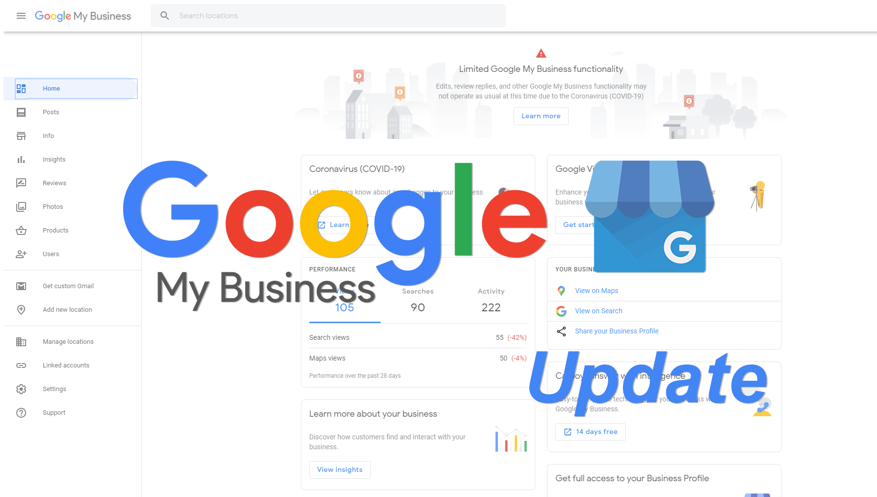 Google Posts Available for All Businesses